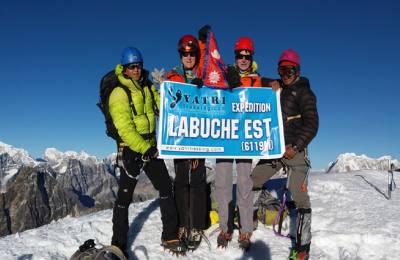 Labuche East Peak Climbing