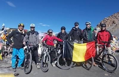 Mountain Biking Trip around Annapurna