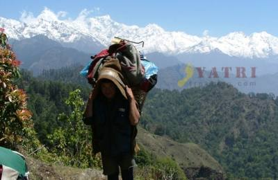 Sing La Pass (Indigenous route) from Dharche Laprak