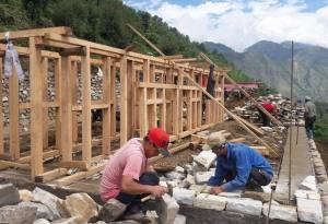 Survivre et revivre après le tremblement de terre: création d'un Centre d'Accueil pour les Anciens