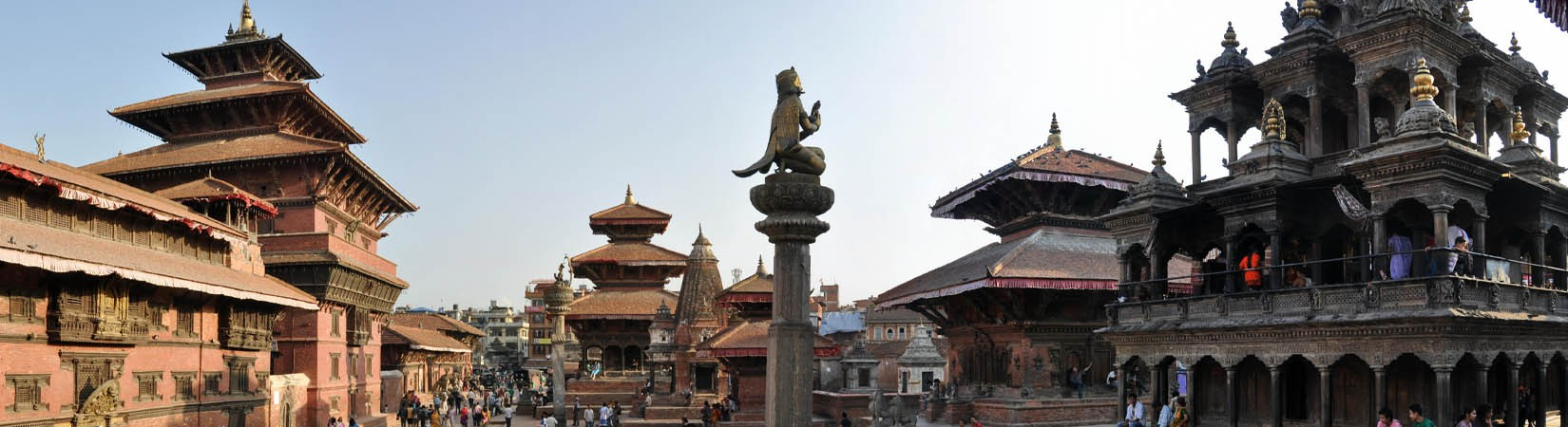 Le site du patrimoine de l'UNESCO de place Patan Durbar Square
