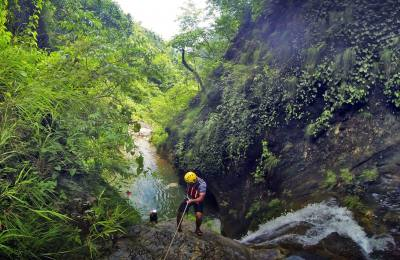 Canyoning au Népal