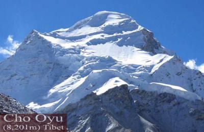 Expédition Cho Oyu (8201m)