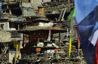 Haute Route Des Annapurnas en traversant 3 cols