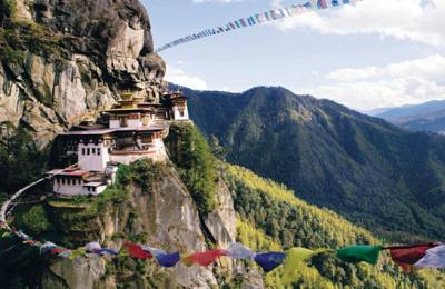 Le Bhutan de ouest vers Est