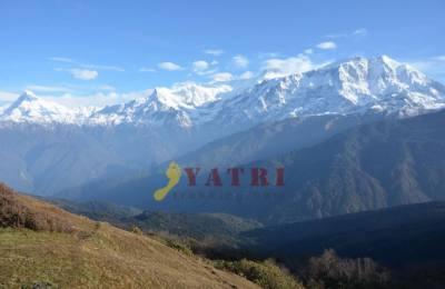 Le lac de Dudh Pokhari