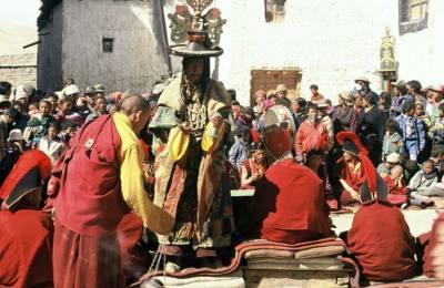 Le mythique fête de TIJI à Lho-Manthang