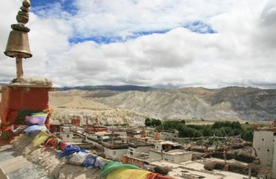Lo Manthang la capital culturelle du Haut Mustang