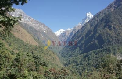 Sanctuaire des Annapurna par Gorepani