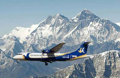 Survol de la Chaîne Himalayenne Everest