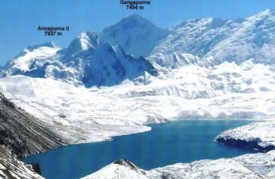 Tour des Annapurna avec une variante du Tilicho et poursuivant le plus fond vallée Kaligandaki
