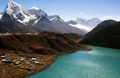 Trek de Gokyo au camp base Everest Kalapathar 5545m