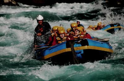 Une journée de Rafting à la rivière Trisuli